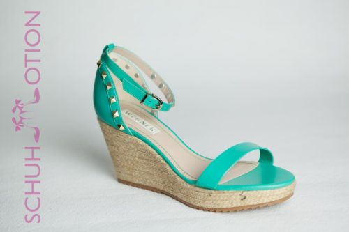 Sommerliche Wedges mint