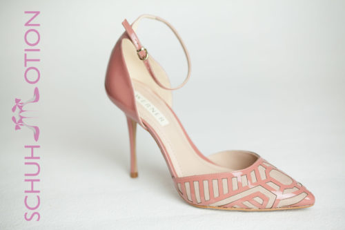 Pumps mit Riemchen rose hell