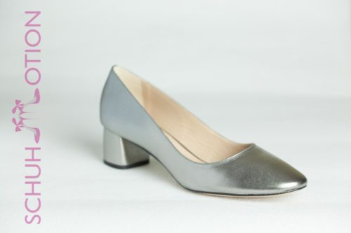 pumps block silber 1
