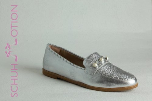 Schuhmotion Loafers silber
