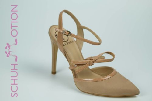 Schuhmotion Nubuk Pumps Nude 1