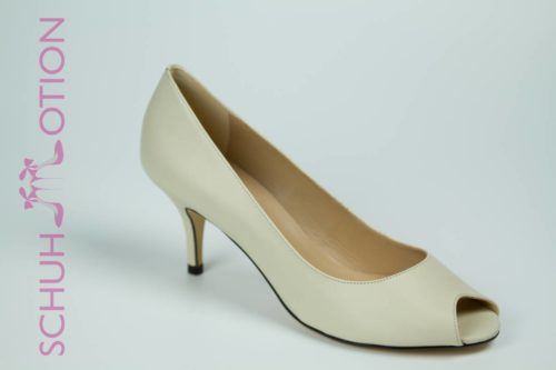 Schuhmotion Peeptoes ivory 1