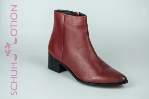 Schuhmotion Ankle Boots Rot 1