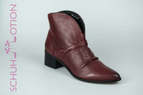 Schuhmotion Stieflette rot cut out 1